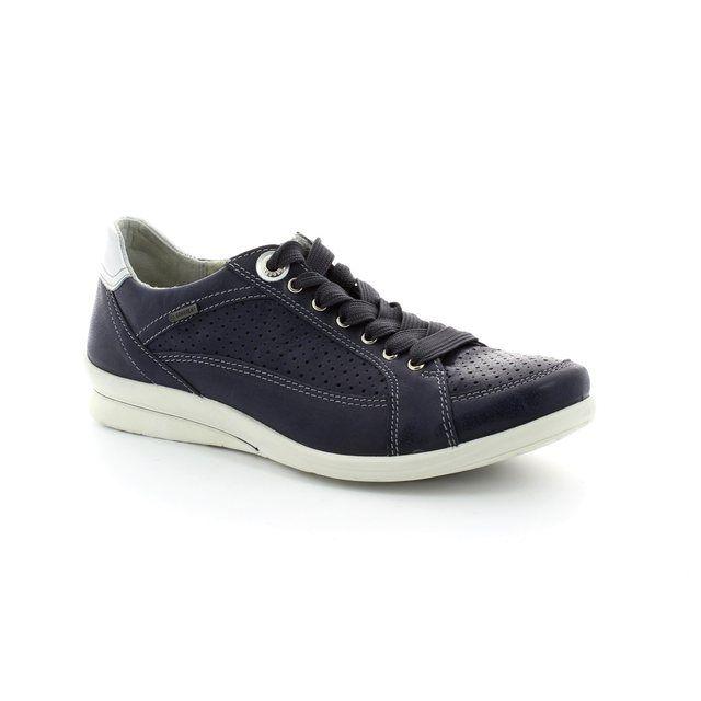 Legero Albalace 00637-86 Navy lacing shoes