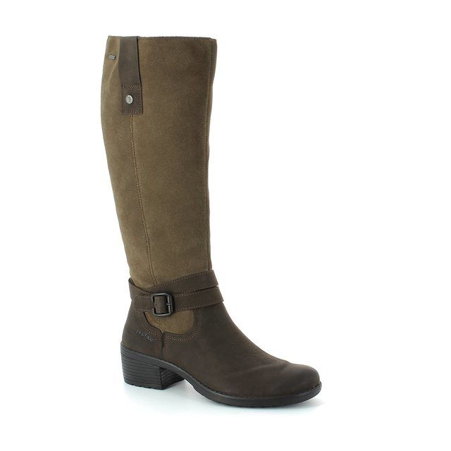 Legero Bellbarry 00550-11 Brown multi knee-high boots