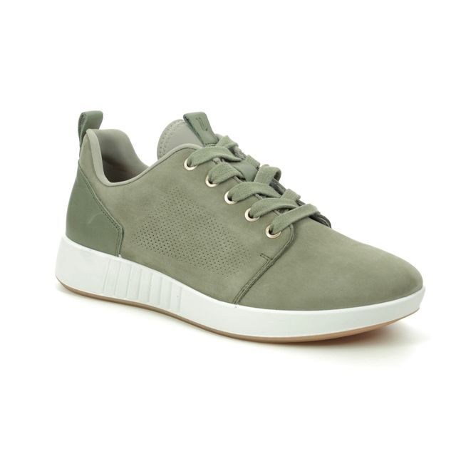 Legero Trainers - Olive suede - 09923/72 ESSENCE