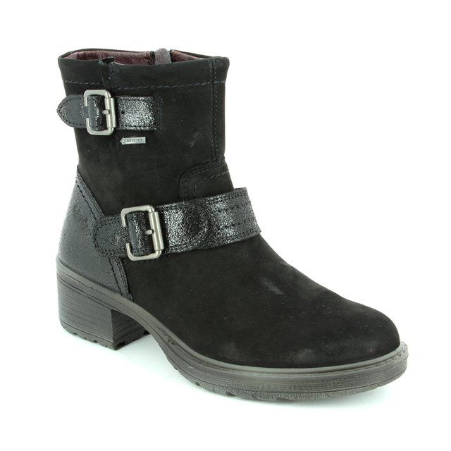 Legero Lauria Gore 00553-00 Black ankle boots
