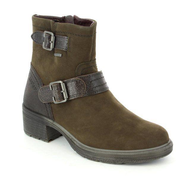 Legero Lauria Gore 00553-98 Brown nubuck ankle boots