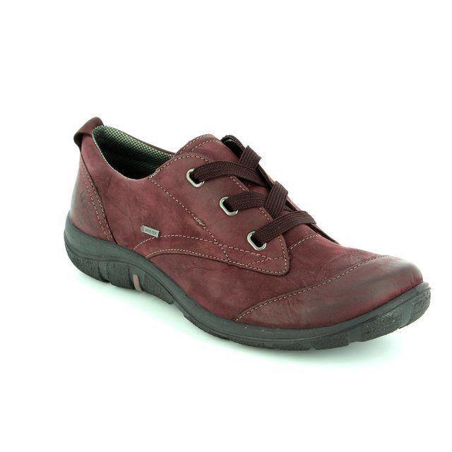 Legero Milano Gore 00580-72 Plum lacing shoes