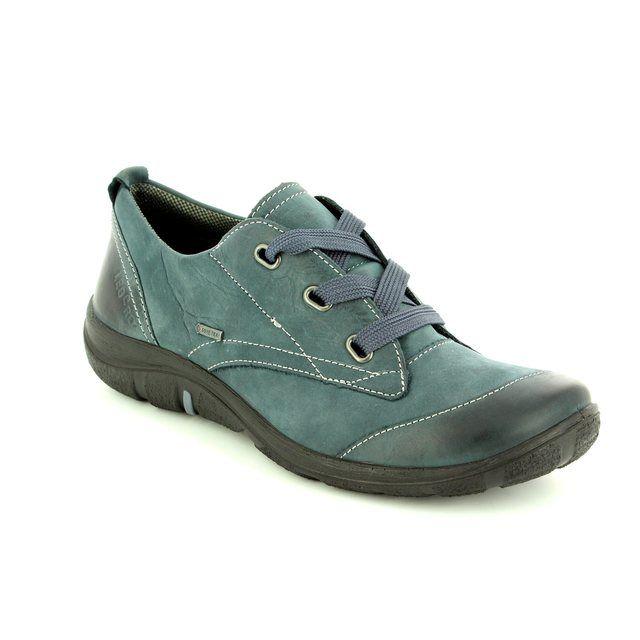 Legero Milano Gore 00580-83 Blue lacing shoes
