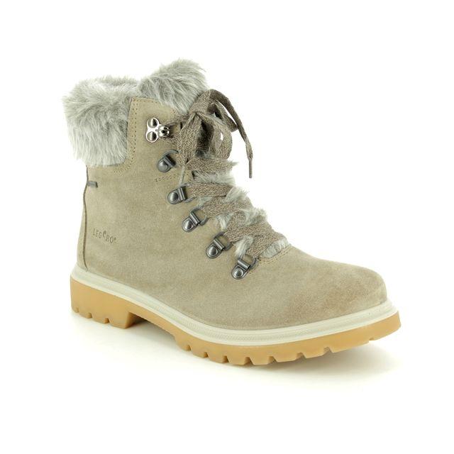 Legero Winter Boots - Beige suede - 09622/26 MONTA FUR GORE-TEX