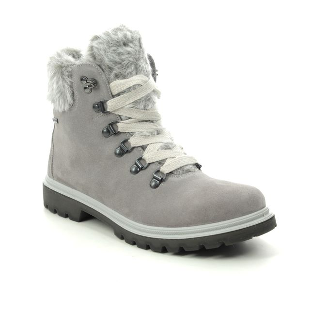 Legero Winter Boots - Grey Suede - 2009662/2900 MONTA FUR GTX