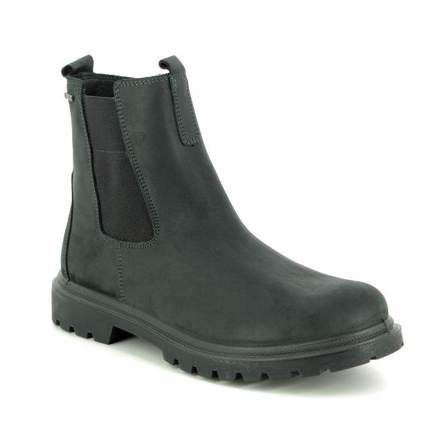 Legero Chelsea Boots - Black nubuck - 09663/00 MONTA GORE-TEX