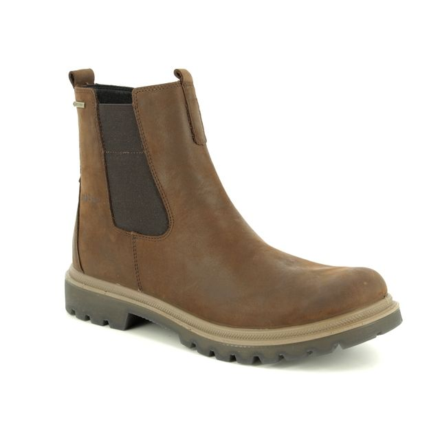 Legero Chelsea Boots - Brown nubuck - 09663/31 MONTA GORE-TEX