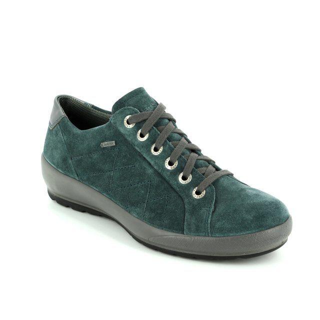 Legero Lacing Shoes - Petrol blue - 00550/76 OLBIA GORE