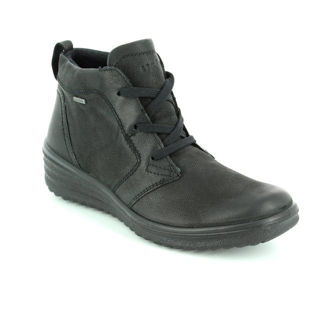 Legero Roma Gore Tex 00563-00 Black walking boots