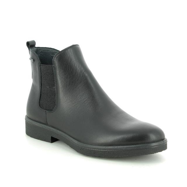Legero Chelsea Boots - Black leather - 00684/01 SOANA GORE-TEX