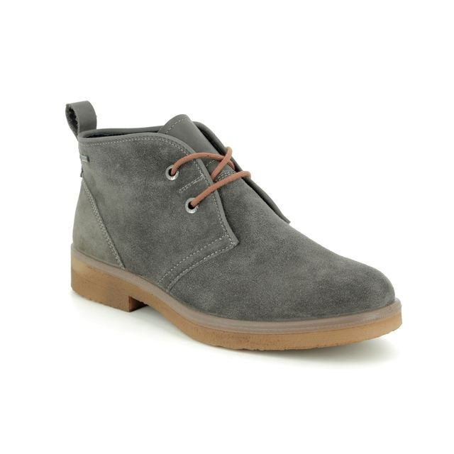 Legero Ankle Boots - Grey-suede - 00683/21 SOANA LACE GORE