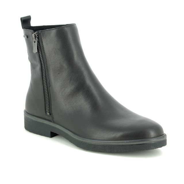 Legero Ankle Boots - Black leather - 09687/01 SOANA ZIP GORE