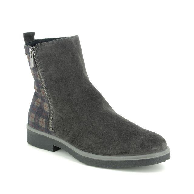 Legero Ankle Boots - Grey-suede - 09687/08 SOANA ZIP GORE