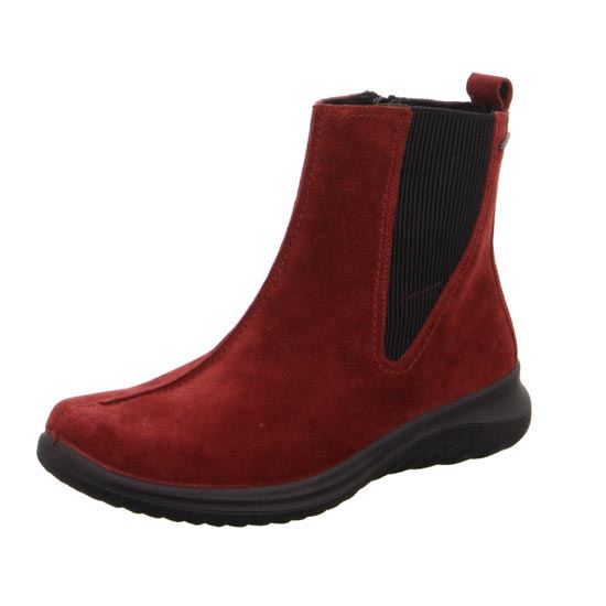 3cb6eae59ac Legero Chelsea Boots - Red suede - 09571/49 SOFT CHELSEA GTX