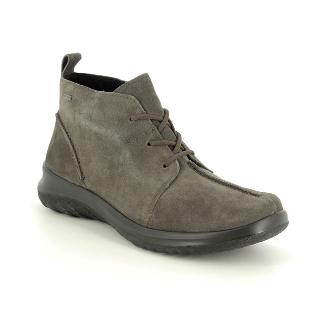 Legero Ankle Boots - Grey suede - 09569/28 SOFT LACE GTX