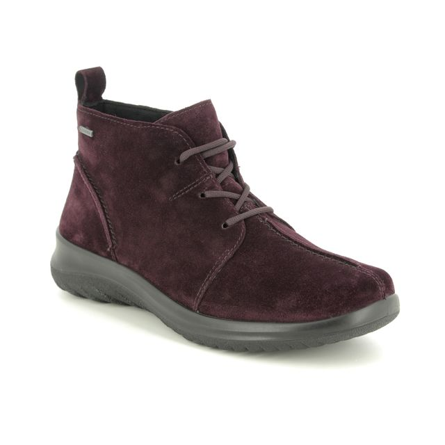 Legero Ankle Boots - Wine - 09569/59 SOFT LACE GTX