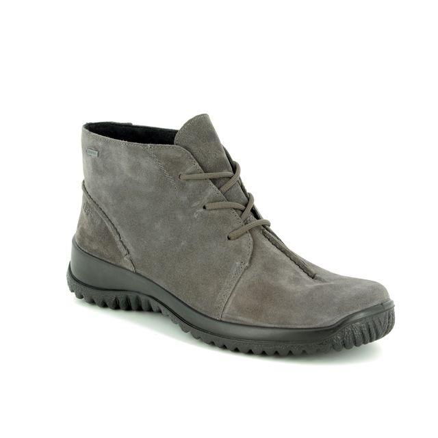 Legero Walking Boots - Grey Suede - 00570/23 SOFTBOOT GORE