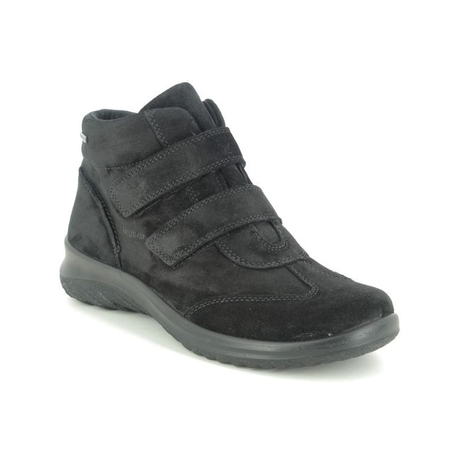 Legero Winter Boots - Black Suede - 2009575/0000 SOFTBOOT GTX