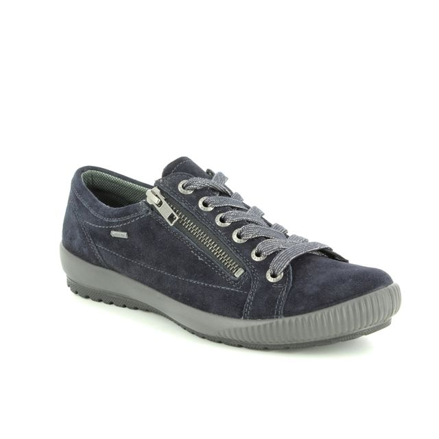 Legero Lacing Shoes - Navy suede - 00616/72 TANARO 4.0 GORE-TEX