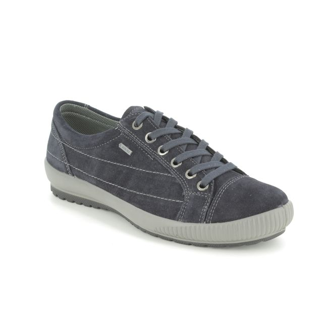 Legero Lacing Shoes - Navy Suede - 00613/83 TANARO 4.0 GTX