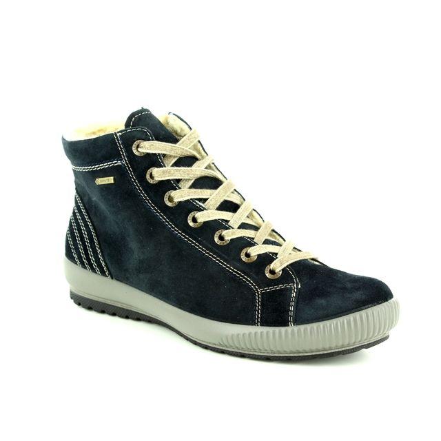 Legero Ankle Boots - Navy suede - 00619/80 TANARO HI GORE-TEX