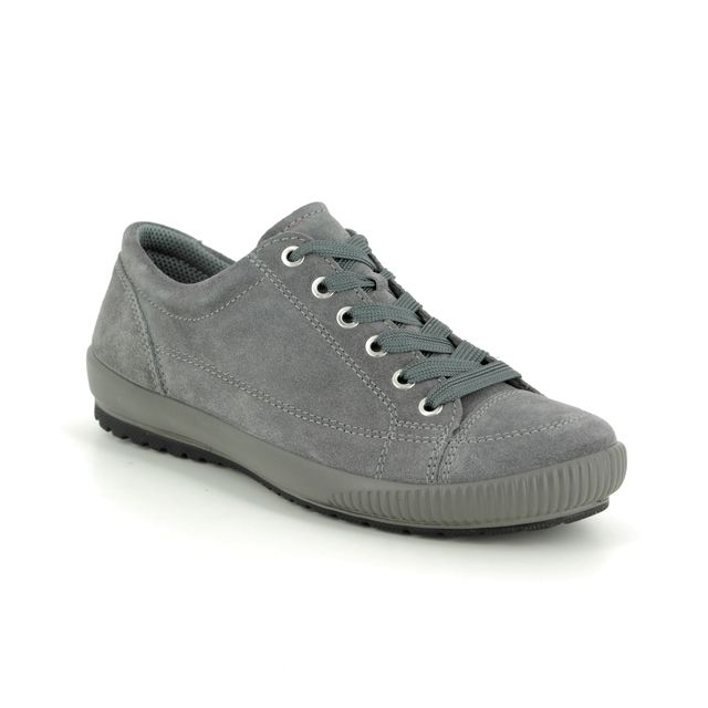 Legero Lacing Shoes - Grey-suede - 00820/22 TANARO STITCH