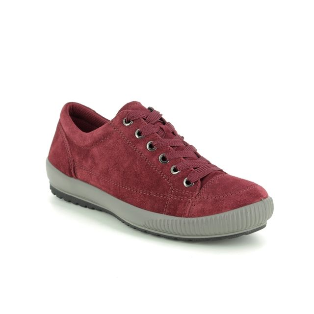 Legero Lacing Shoes - Red suede - 00820/49 TANARO STITCH