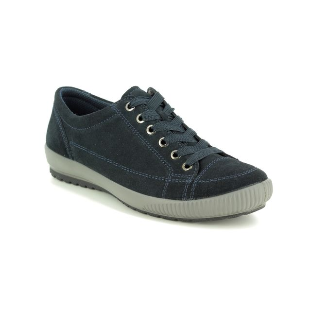 Legero Lacing Shoes - Navy Suede - 00820/80 TANARO STITCH