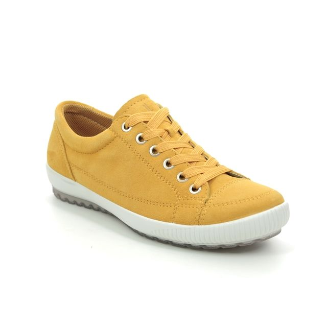 Legero Lacing Shoes - Yellow Suede - 00820/62 TANARO STITCH 2