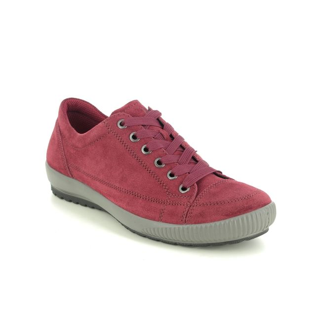 Legero Lacing Shoes - Red suede - 2000820/5000 TANARO STITCH