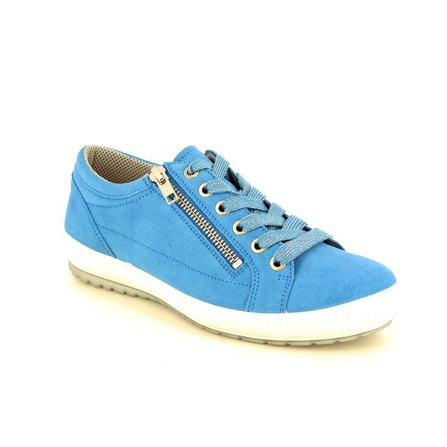 Legero Tanaro Zip 00818-89 BLUS lacing shoes
