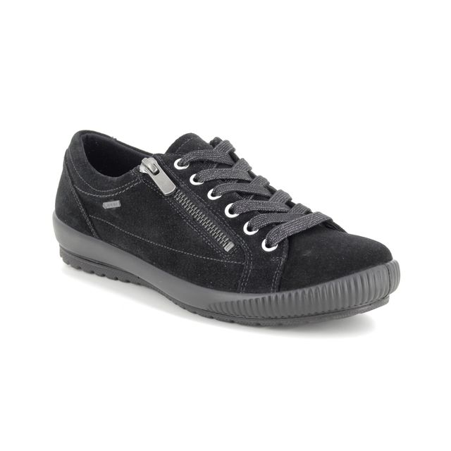 Legero Comfort Shoes - Black suede - 00616/00 TANARO ZIP GTX