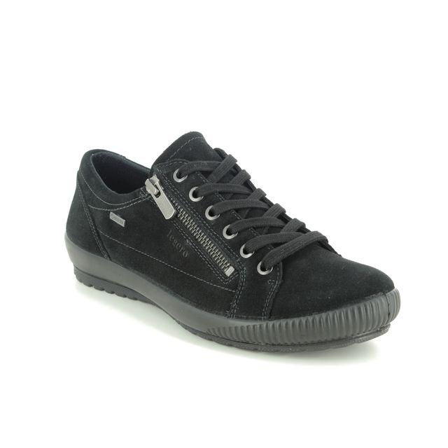 Legero Lacing Shoes - Black suede - 00616/00 TANARO ZIP GTX