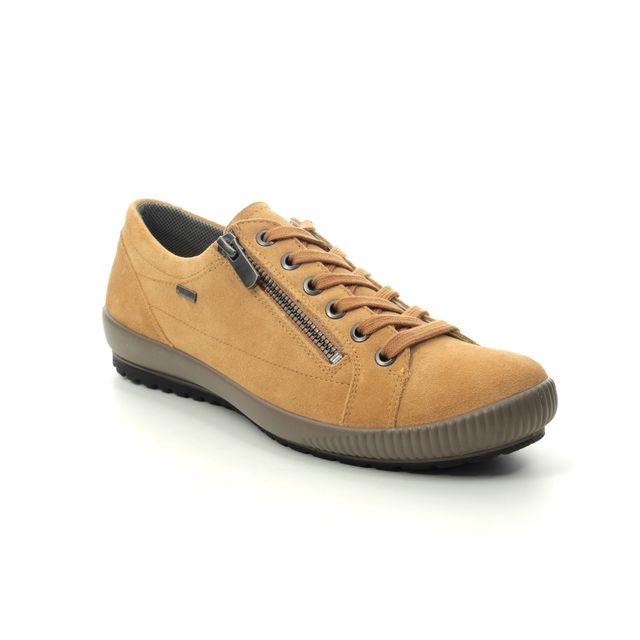 Legero Lacing Shoes - Yellow Suede - 2000616/6300 TANARO ZIP GTX