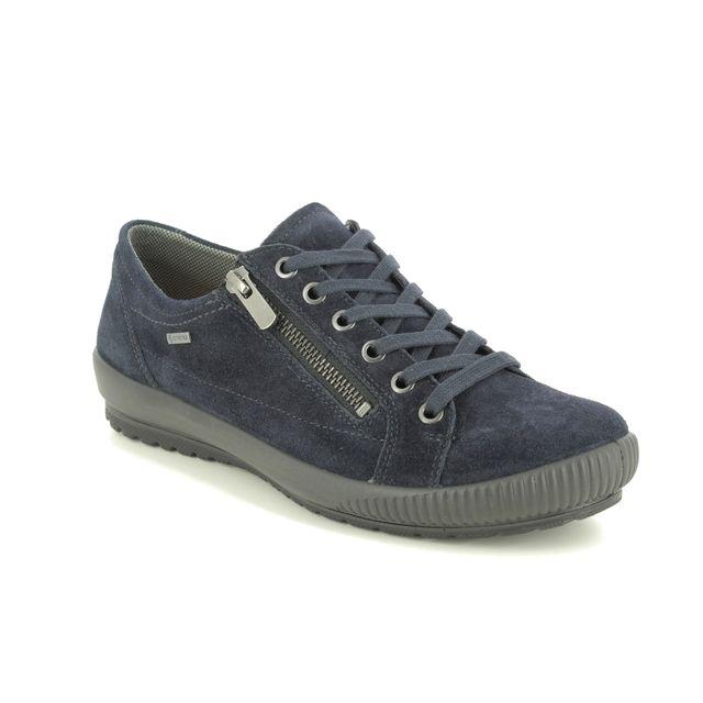 Legero Lacing Shoes - Navy Suede - 2000616/8000 TANARO ZIP GTX