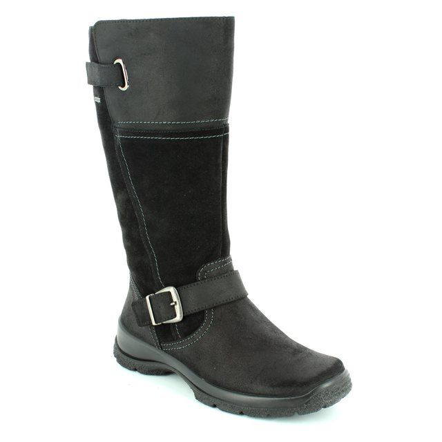 Legero Trekking Gore 00546-02 Black long boots