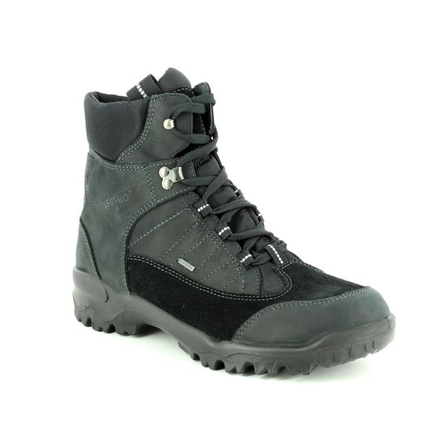 Legero Boots - Black nubuck - 00511/00 WALK GTX MENS