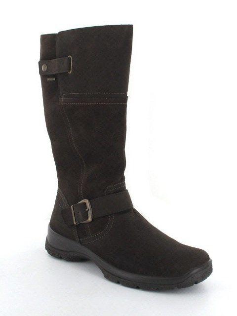 Legero Yukon 42 00546-10 Brown nubuck knee-high boots