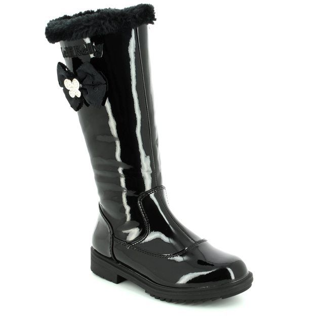 Lelli Kelly Boots - Black patent - LK7658/DB01 FRANCES