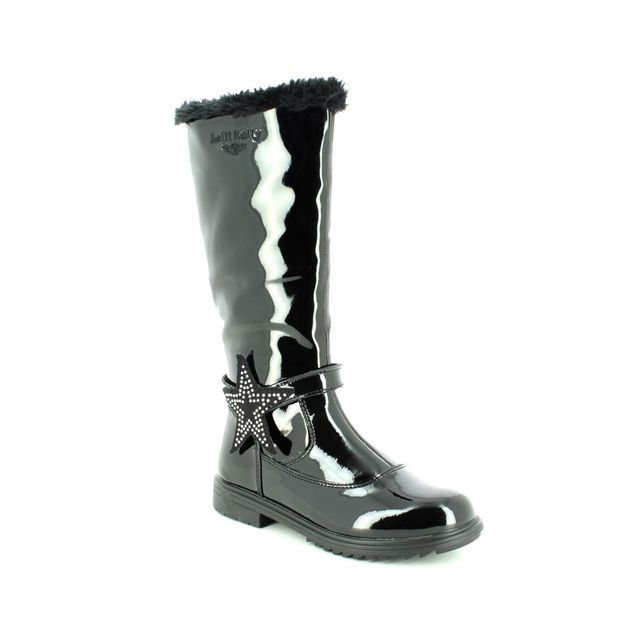 Lelli Kelly Boots - Black patent - LK3662/DB01 MARION HIGH