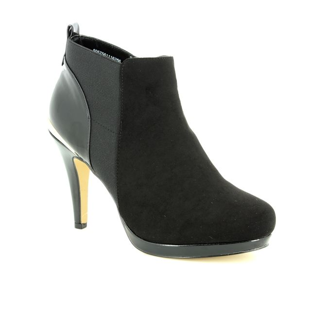 Lotus Fashion Ankle Boots - Black - ULS030/30 AGGY