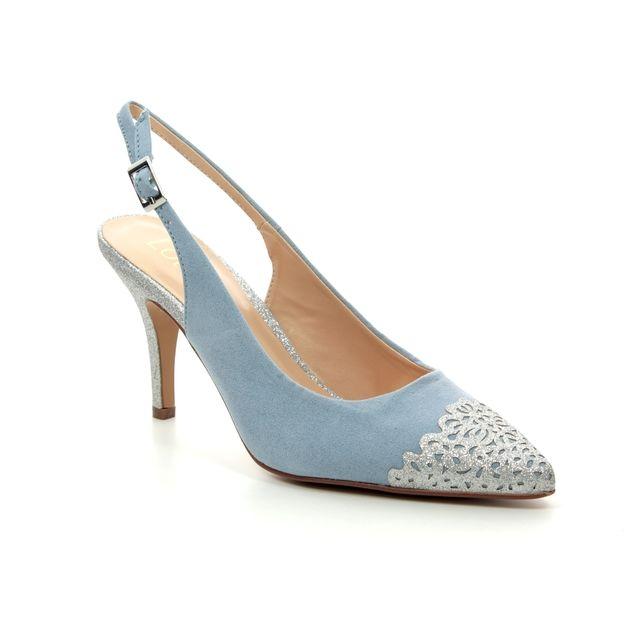 db3539858da Tamaris Fatsia Sling 29616-32-805 Navy suede Slingback Shoes