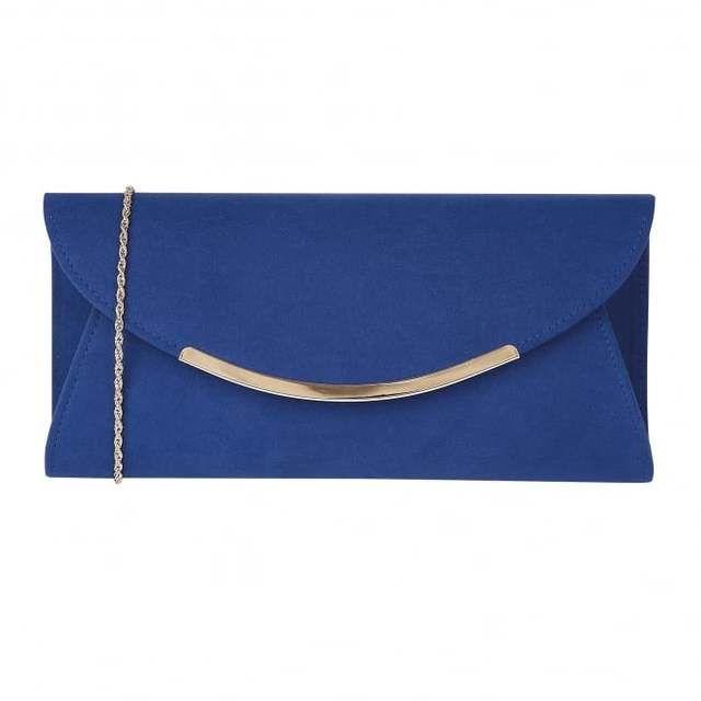 Lotus Matching Handbag - Blue - 01749/72 AVIANNA CLIO