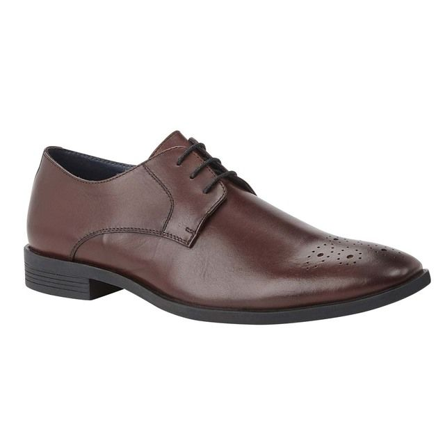Lotus Formal Shoes - Wine leather - UMS051DR/81 CAMERON