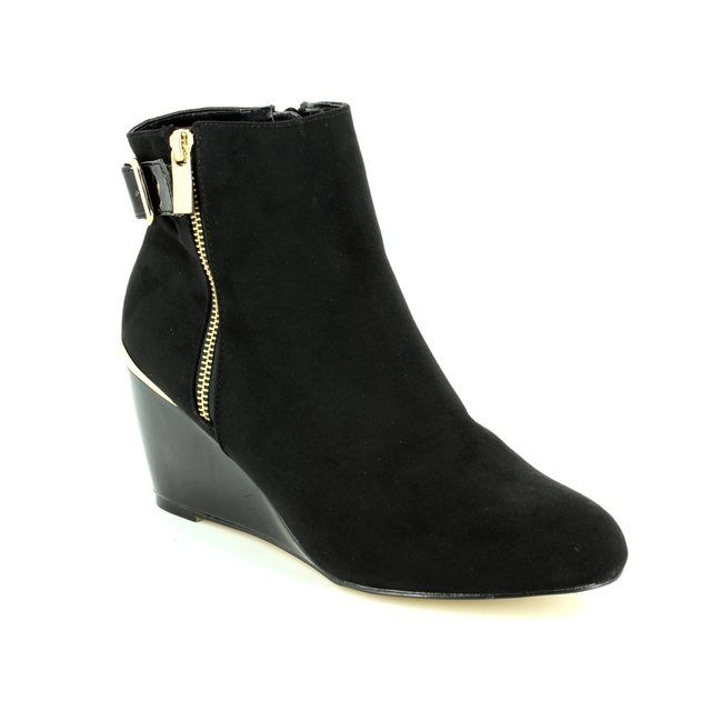 Lotus Ankle Boots - Black - 40379/30 CASSIA