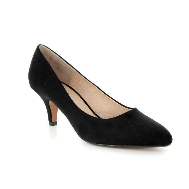 Lotus Clio Black heeled shoes