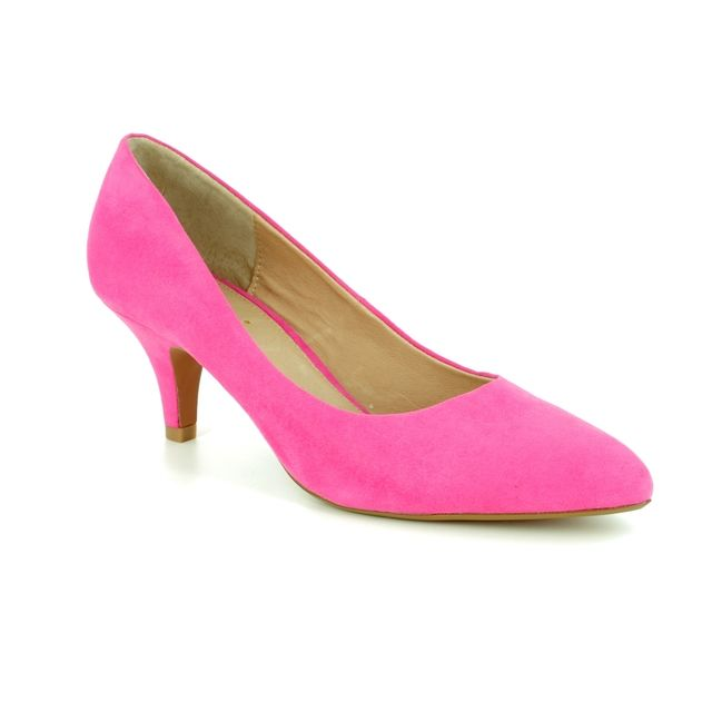 Lotus Heeled Shoes - Fuchsia - 50594/62 CLIO