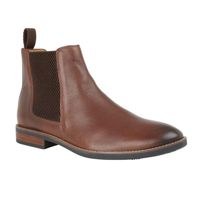 Lotus Aiden Brown leather Chelsea Boots