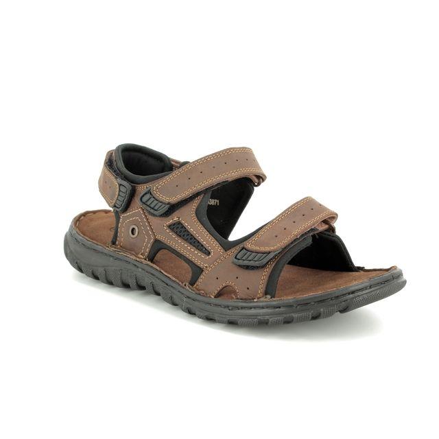 Lotus Sandals - Brown - UMP001/20 DOUGLAS