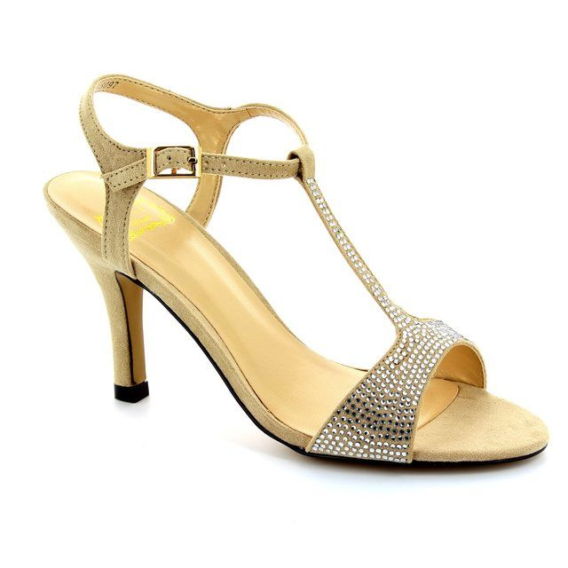 Lotus Fenella Beige high-heeled shoes